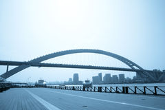 Modern city bridge Stock Photography