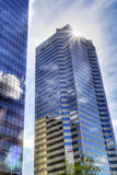 Modern city building hdr Royalty Free Stock Photo