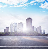 Modern City building and office building. In shenzhen Stock Photography