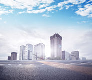 Modern City building and office building. In shenzhen Stock Images