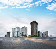 Modern City building and office building. In shenzhen Stock Photos