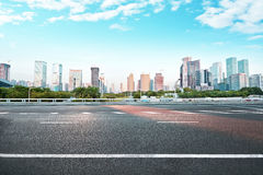 Modern City building and office building. In shenzhen Royalty Free Stock Image