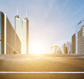 Modern City building and office building. In shenzhen Royalty Free Stock Photos