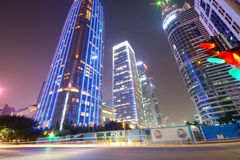 Modern City building and office building in shenzhen Royalty Free Stock Photos