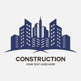 Modern city Buildings construction Stock Images