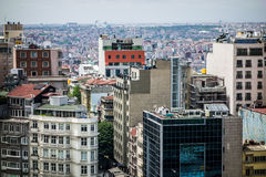 Modern city buildings Istanbul Stock Photo