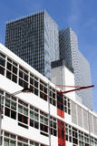 Modern city buildings in Rotterdam Stock Images