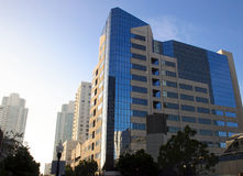 Modern City Buildings in San Diego Royalty Free Stock Image