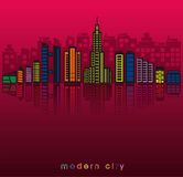 Modern city Royalty Free Stock Image