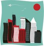 Modern city. Stock Image