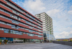 The modern city centre of Almere, The Netherlands Stock Photography