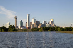Modern city Dallas skyline Stock Image