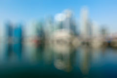 Modern city defocused blurred background Royalty Free Stock Images