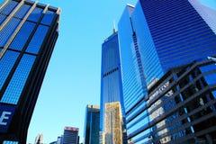 The modern city of Hongkong Stock Photography