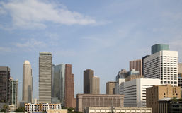 Modern city Houston Royalty Free Stock Photos