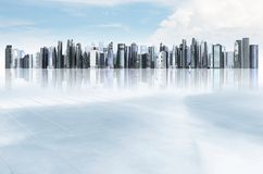 Modern City Illustration Stock Photography