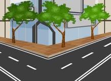 Modern city. Illustration modern city,City scape background Stock Photography