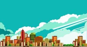 Modern city landscape Stock Images