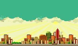 Modern city landscape Stock Image