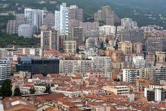 Modern city Monte Carlo Stock Photo
