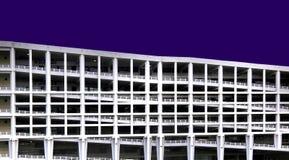 Modern city multi-storey carpark Stock Images