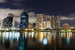 Modern city at night Royalty Free Stock Photos