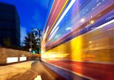 Modern city at night Stock Photography