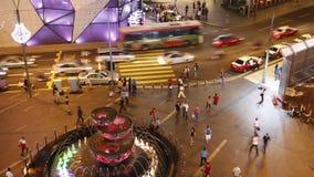 Modern city night life Royalty Free Stock Photo