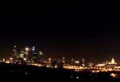 Modern city  night Stock Image