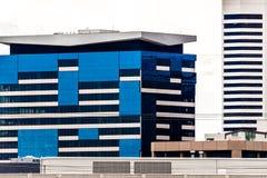 Modern city office buildings  in denver colorado Royalty Free Stock Image