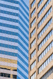 Modern city office buildings  in denver colorado Royalty Free Stock Images