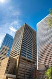 Modern city office buildings  in denver colorado Stock Photography