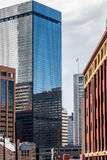 Modern city office buildings  in denver colorado Stock Image