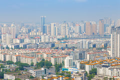 Modern city panorama Stock Image