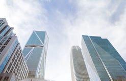 Modern city panorama. Royalty Free Stock Photo
