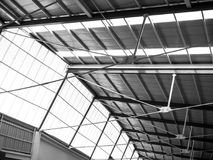 Modern city rchitecture ceiling stock photos