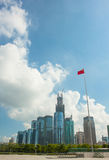 Modern city Shenzhen Stock Image
