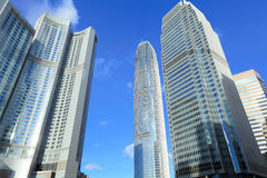 Modern city skyline Royalty Free Stock Photo