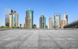Modern city skyline Royalty Free Stock Image