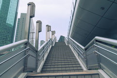 Modern city stairs Stock Photography