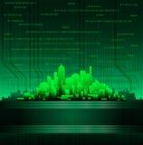Modern city theme background Stock Photography