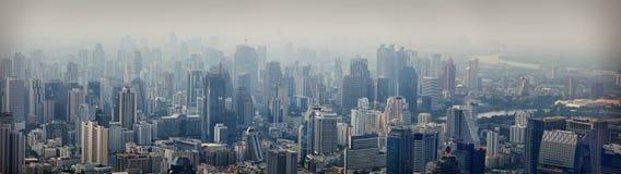 Modern city view of Bangkok Stock Photography