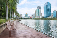 Modern city view of Bangkok, Thailand. Cityscape Stock Photo