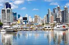 Modern city view Royalty Free Stock Photography
