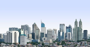 Modern cityscape royalty free stock images