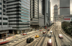 modern cityscape arkivfoton