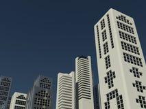 Modern cityscape Stock Photos