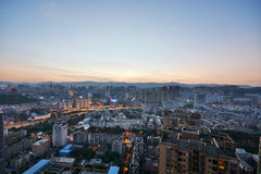 Modern cityscape in Kunming city Stock Images