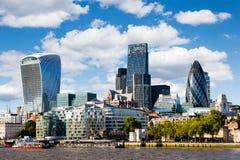Modern cityscape of London Royalty Free Stock Photo