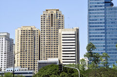 Modern cityscape of Makati City Royalty Free Stock Photography
